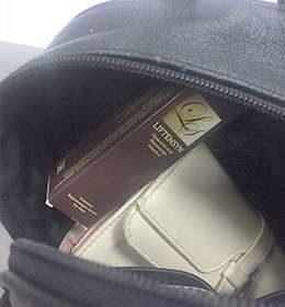 Фото упаковки лифтенсин против морщин в сумочке